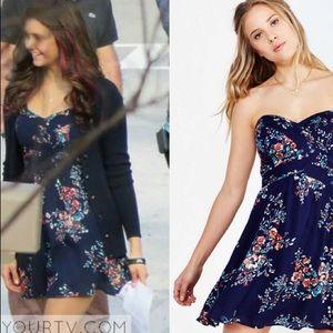 Kimchi Blue Floral Dress ASO Elena Gilbert
